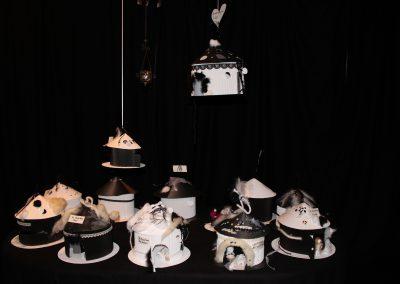 Atelier cabanes noir & blanc